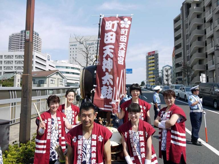町田天神太鼓02